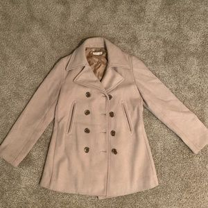 J. Crew Women's PeaCoat in Tan Color Size Small